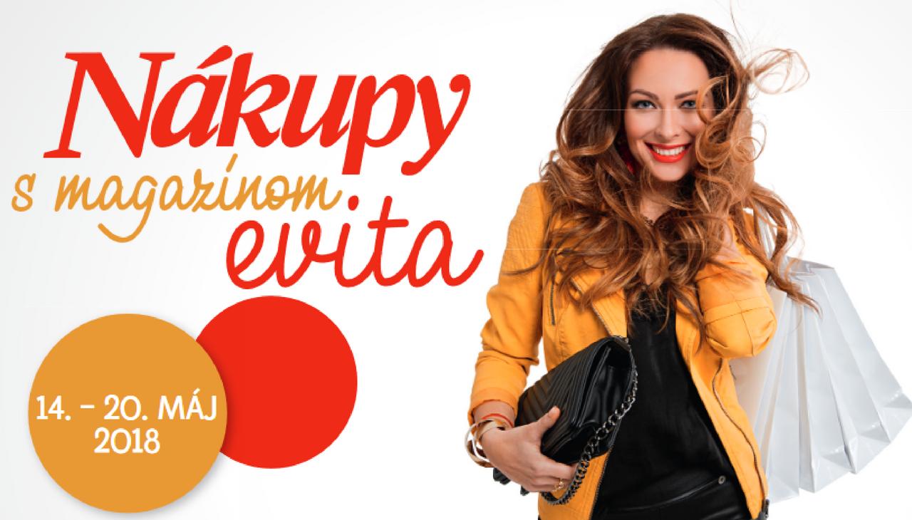 Nákupy s Evitou 2018 - Kupóny na stiahnutie a zoznam obchodov  0619b18b3a9