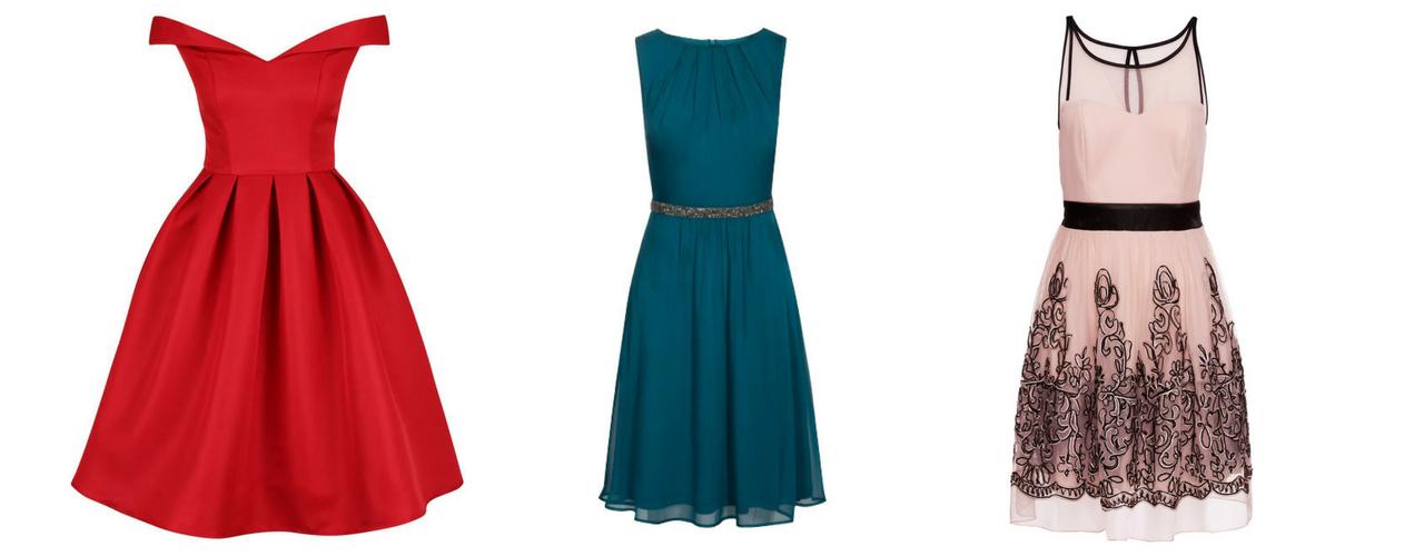 eef1f3e69 červené krátke šaty so spadnutými ramienkami, šifonové šaty, koktejlové šaty  BonPrix
