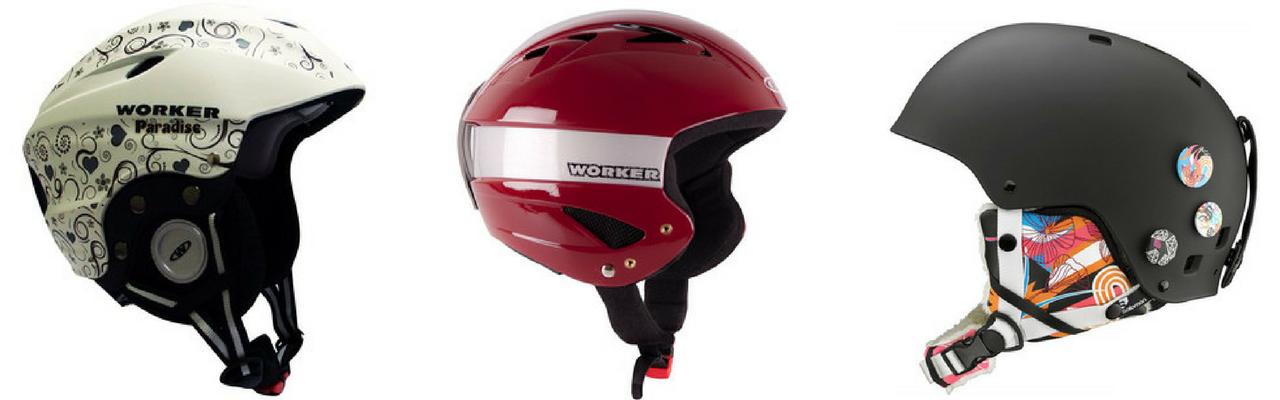 d466d19ac Lyžiarske helmy sa dajú zaobstarať aj lacno. Zľava: Worker (22 €), Worker  (23,60 €), Salamon (61 €)