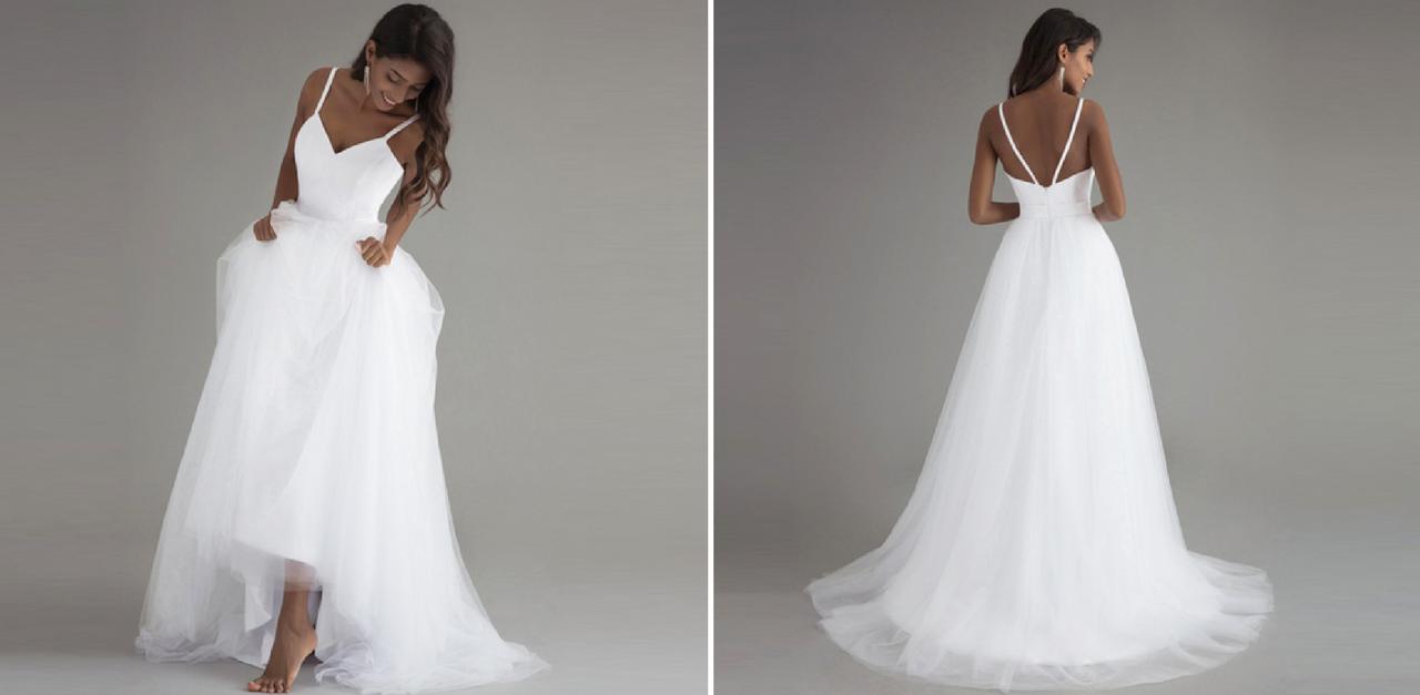 5f527b8d4da7 Najkrajšie svadobné šaty z AliExpress